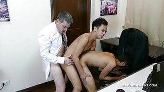 not daddy and Asian Twink Raw Threesome