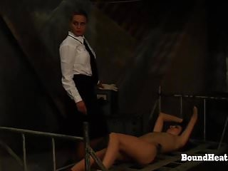 Asian train groping - No escape 2: groping,slave training and punishments
