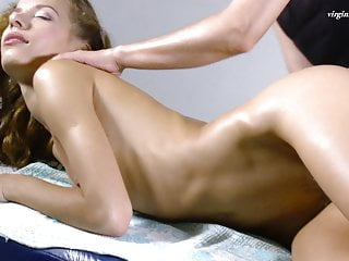 Virgin being fucked Volosatik being virgin pussy massaged