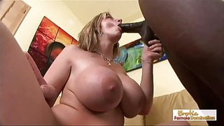 Local book salesman can't resist this horny cougar's huge bo