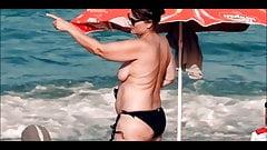Spy Beach Mature Tribute big hard nipple Vixxen