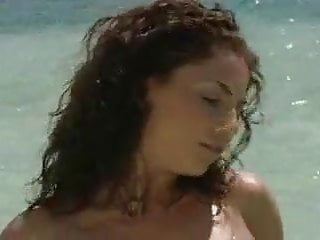Curly haired pussy Curly black haired beauty fucks and sucks on the beach