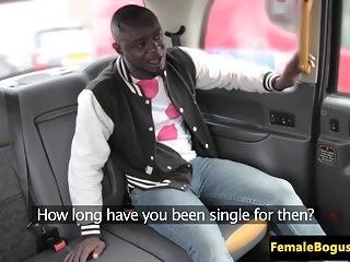 Milf female black video Female taxi driver plowed by black passenger