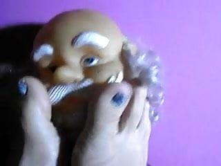 Babbo natale sexy - Anteprima natalizia - miss wagon e babbo natale feticista