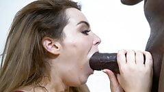 Throating Black Pipe