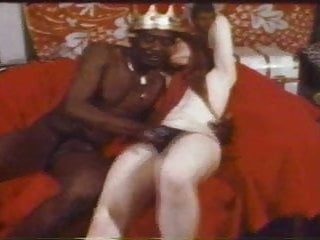 King of the cock Black king with big cock fucks white girl