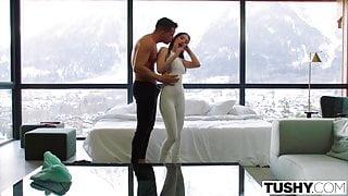TUSHY, Anal-crazy Ski instructor Liya shows off her skills