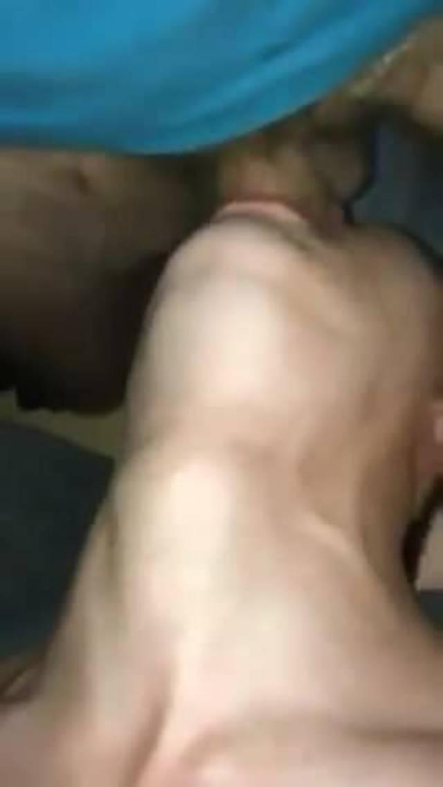 Sloppy Throat Fuck Ebony