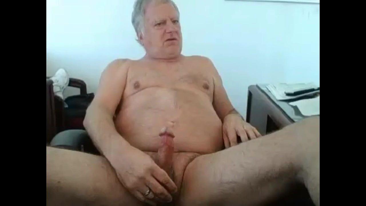 Horny Gay Grandpa Cum