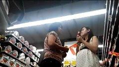 Blue Panty Mom at Hypermart PTC, Surabaya, Indonesia