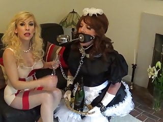 East asian regime Madame cs strict sissy maid training regime