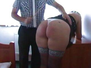 Adult women spanked and temperature taken - Araela has taken a beating