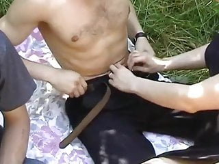 Tranny gangbang dude - Shared girlfriend with dudes