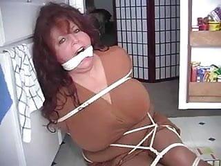 Mature bondage gagged Bbw elane nanny gagged