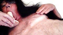 Sucking dildo
