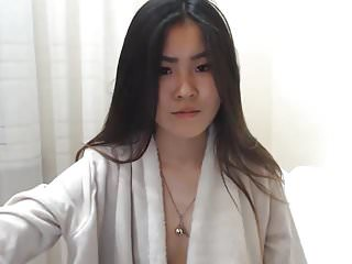 Asian sex talk cam - Sexy korean girl squirts on cam