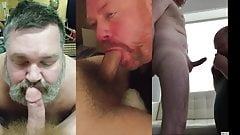 Mature men swallow loads, Vertical Video mashup