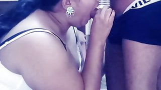 Sri Lankan MILF Anuraadi fucks with Office Friend 2