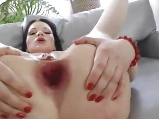 Hardcore anal sluts gaping videos - Slut in red anal fisting -afm-