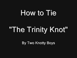 Bdsm rope knots Trinity knot