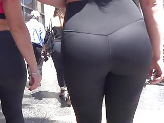 Ass tight video Phat ass tight spandex sisters