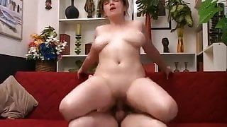 Old man and young girl - creampie ending 3