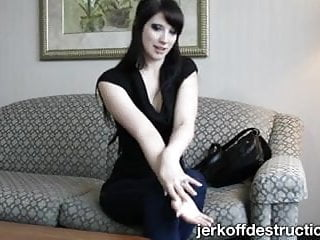 Femdom tease denial Tease and denial joi with chastity