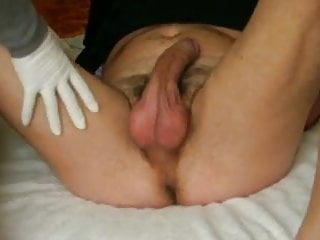 Mens shaved balls galleries Men cum after balls punching