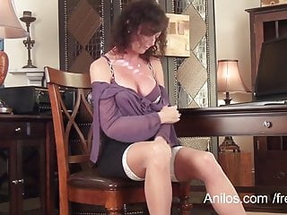 Stocking mom sexy - First naughty video for sexy mature mom
