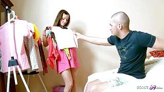 Big Dick Bro Seduce Tiny Virgin Step Sister to Rough Fuck