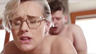 Cheating Angel Wicky fucked by stepson