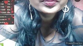 Kiara's boobs milked for making tea, webcam