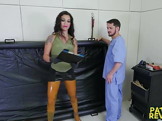 Pussy holl - Extreme punishment for mike from nurse holl