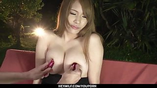 Busty Nami Itoshino in scenes of JAV sex - More at Japanesem