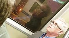 daddy at bart train