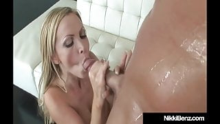 Penthouse Pet Nikki Benz Plowed In Her Pussy By Blonde Buck!