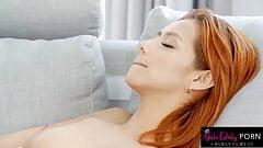 Sensual Yoga Session Turns into a Hot Lesbian Fuck