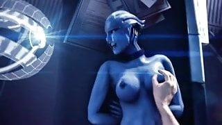 Liara Tsoni just want to have fun (Mass Effect)