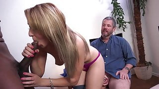 babe takes bbc in cuckold