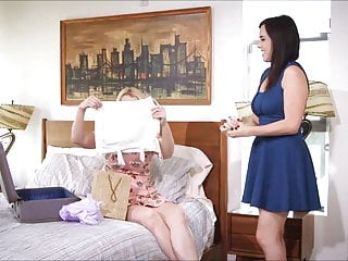Lesbian girdles Magic girdle turns bride into a reluctant lesbian