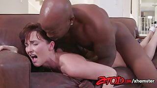 Bianca Breeze loves to be fresh meat for a big black cock