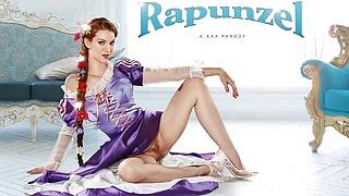 Teen Redhead Princess RAPUNZEL Craves For Big Cock VR Porn