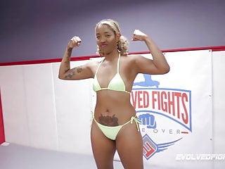 Mature lesbian wrestling galleries - Ariel x naked lesbian wrestling dominating lotus lain