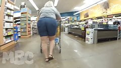THICK PAWG GRANNY WEDGIE