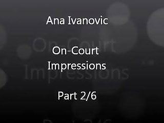 Hot sexy celebrity wallpaper Anna ivanovic is hot sexy on court impressions part 2 of 6