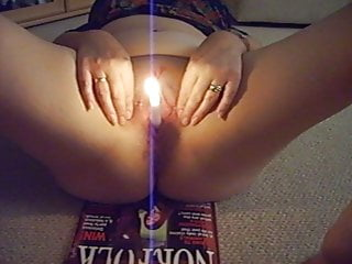 Wax or shave vagina - Wife has hot wax on shaved pussy lighted candle inserted.