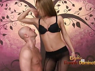 Teen boy humiliation - Exotic dominatrix spanking and humiliating her toy-boy