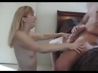 My wifes first big cock - Beautiful blond wife moaning while taking first big cock