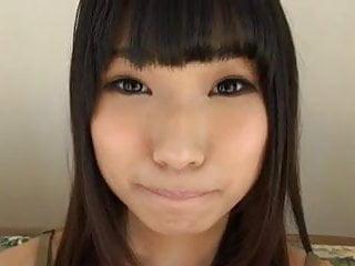 Asian shaving Shaved japanese teen gives blowjob