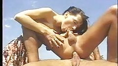 Bisexual outdoors